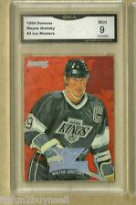 1994 Donruss Wayne Gretzky # 4 of 10 Ice Masters GMA 9 MINT GRADED