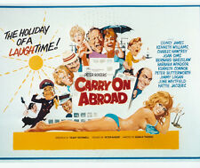Carry On Abroad UNSIGNED poster photo - H3963