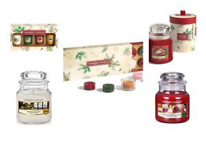 Yankee Candle Christmas Gift Sets Small Jar Candles 104g 411g
