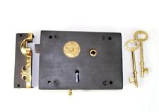 Colonial Carpenters Rim Lock Wrought Iron Left Hand Restoration Hardware