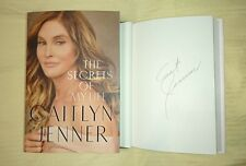 Signed Book Caitlyn Jenner The Secrets of My Life 1/1 HC DJ Kardashian Olympian