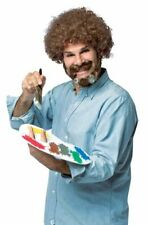 Rasta Imposta Bob Ross Costume Kit Painter Artist Halloween Men Adult
