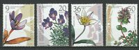 Macedonia 2003 Flowers 4 MNH stamps