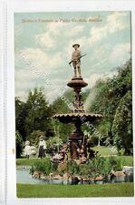 (Ga3866-468) Soldiers Fountain in Public Gardens, HALIFAX, Nova Scotia c1910 EX