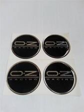 Centro de centro de rueda de aleación 50 mm insignias (O2)