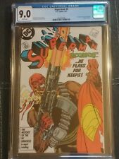 Superman #4 1st appearance of Bloodsport!! 🔥 The Suicide Squad!!CGC 9.0!!