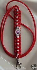 Philadelphia Phillies Team Logo Emblem Red & White Paracord Lanyard or Bracelet