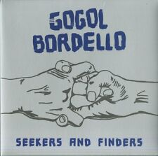 GOGOL BORDELLO SEEKERS AND FINDERS VINILE LP BLUE LIMITED EDT NUOVO SIGILLATO !