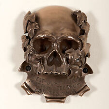 Ouvre-Bouteille-BEER BUDDIES-Mural-Memento mori crâne-Bronze