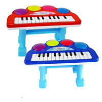 3D Light Kids Musical Instrument Electronic Piano Keyboard Organ With Tripod Toy