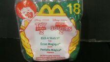 "Toy Story 2  ""Etch A Sketch Toy"" NIP McDonald's 1999"