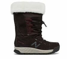 New Balance Female Women's Fresh Foam 1000 Boot Stylish Winter Brown With Red