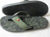 Vans Rasta Mens La Costa Lite Grape Leaf Black Flip Flops Sandals Size 9 NWT