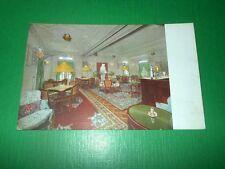 Cartolina Navigazione LLoyd Triestino - Nave Esperia - Sala da gioco - Bar 1930