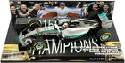 Minichamps Mercedes W06 Austin USA GP 2015 - Lewis Hamilton World Champion 1/43
