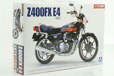 Kawasaki z400fx e4 1981 kit de motocicleta kit 1:12 Aoshima 46