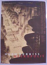 HUGH FERRISS – CENTRE GEORGES POMPIDOU- AFFICHE ORIGINALE D'EXPOSITION - 1987