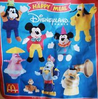 McDonalds Happy Meal Toy 2001 Disneyland Paris Walt Disney Toys - Various