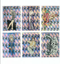 1993 Olivia DeBerardinis II Prism Cards Lot of 14 (12 dif) of 72 w/wrapper nm/m