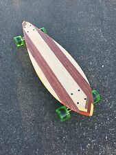 Longboard made of 5 Types Of Solid Wood - Ventura