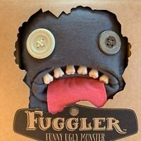 "9"" Oogah Boogah Grey Felt With Tongue Fuggler Brand New Sealed With Certificate"