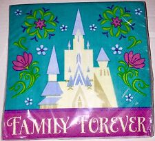 """Disney """" Family Forever"""" Frozen Luncheon/Beverage Napkins-2 Ply (16 )per pack"""