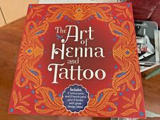 The Art of Henna and Tattoo Box Set, Opened not used