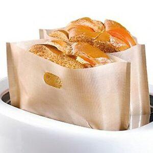 Toast Teflon Tüten Behälter Set 16 x 17 cm 2er Set Sandwich Toast