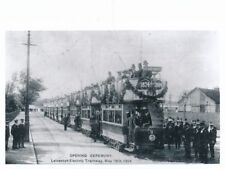 Transport Leics LEICESTER Opening Electric Tram #3 Photographic copy by Packer