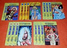 OVERPOWER White Queen LOT 13 sp Marvel Cold-Hearted Enemy Hellfire Leader Mutant