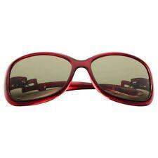 Lunettes de soleil sport rouge pour femme