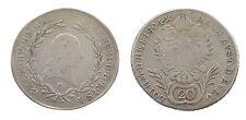 RDR / Österreich: 20 Kreuzer 1804 G - Franz II. - Silber
