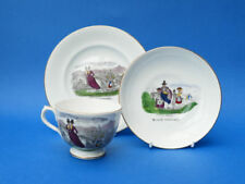 Unboxed Multi Pottery Cups & Saucers