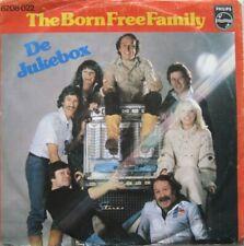 """THE BORN FREE FAMILY - DE JUKEBOX   - VINYL 7"""" - 45 RPM -"""