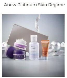 Avon Anew Platinum Skin Regime BNIB Sealed Box Free UK P/P