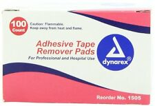 Dynarex Adhesive Tape Remover Pad #1505 100 Pads