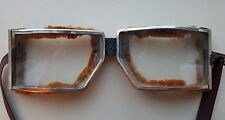 Vintage Motorcycle Or Aviator Goggles Glasses