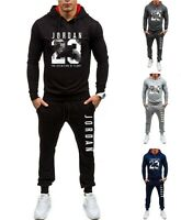 Mens Michael Air Legend 23 Jordan Tracksuit Hoodie &Pants Men Hoodies Sportswear