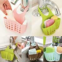 Kitchen Sink Shelf Soap Sponge Drain Rack Bathroom Holder Storage Hanging Q4R0