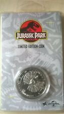 Jurassic Park Limited Edition ' Find Nedry' Collectable COIN 'New & Sealed'