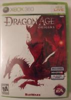 DRAGON AGE - ORIGINS - XBOX 360 - NEW & SEALED (READ DESCRIPTION)