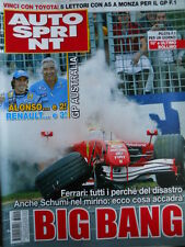 Autosprint n°14 2006  Fernando Alonso Benetton - FERRARI  [P24]