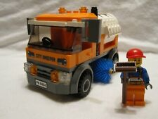 Lego Town City Square Street Sweeper + Figure Mint 60097/60026/60200/8404/7641