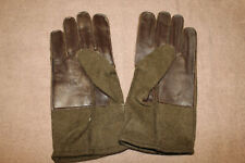 Rare Original WW2 U.S. Army Airborne Favored Leather & Wool Gloves, Unused Pair