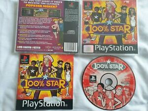 100% Star Sony PlayStation 1 PS1 Game Complete FREE UK POSTAGE