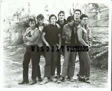 RALPH MACCHIO Vintage PHOTO Matt Dillon RARE Outsiders PATRICK SWAYZE Tom Cruise