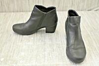 Clarks Un Lindel Zip 26145612 Booties, Women's Size 8.5W, Black