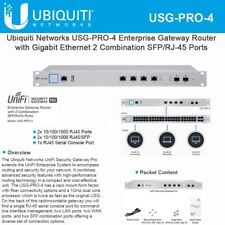 Ubiquiti Networks USG-PRO-4-US Enterprise Gateway Router with Gigabit Ethernet