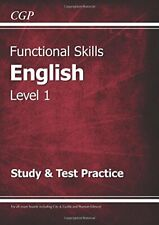 Functional Skills English Level 1 - Study & Test Practice,CGP  ,.9781782946298