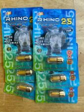 ** 6 PILLS PACKAGE DEAL* RHINO 25 75K MALE ENHANCEMENT PILLS EXTREME POWER